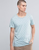 Selected Teardrop Print T-Shirt