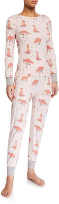 Honeydew Campfire Cutie Pajama Set