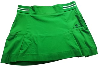 adidas Green Cotton Skirts