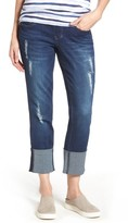 Jag Jeans Women's Lewis Cuffed Straight Leg Jeans