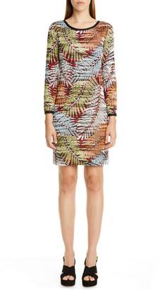 Missoni Palm Leaf Pattern Sweater Dress