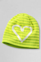 Classic Girls Reversible Beanie-Pale Emerald
