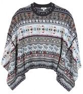Kenzo Crystal-embellished intarsia sweater