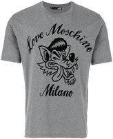 Love Moschino wolf print T-shirt