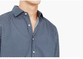 Mango Outlet Slim-Fit Printed Cotton Shirt