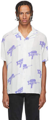 Nasaseasons White Water Gun Button Up Shirt