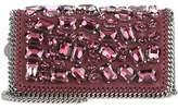 Stella McCartney Falabella crystal-embellished shoulder bag