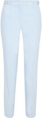 Gabriela Hearst Isabel Cotton-corduroy Slim-leg Pants