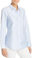 Foxcroft Brooke Stripe Non-Iron Shirt