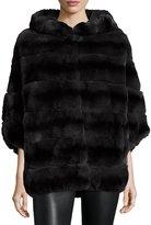 Gorski Rabbit Fur Reversible Down Jacket