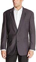 Louis Raphael Men's 2 Button Center Vent Classic Fit Suit Separate Jacket