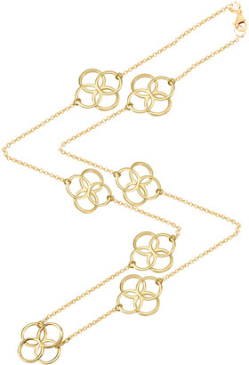 GABIRIELLE JEWELRY Gold Over Silver 42In Necklace