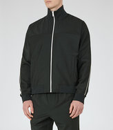 Reiss Champs Zip Funnel Neck Jacket