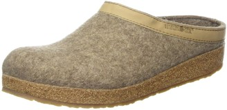 Haflinger Open Back Slippers Grizzly Torben Unisex Adults