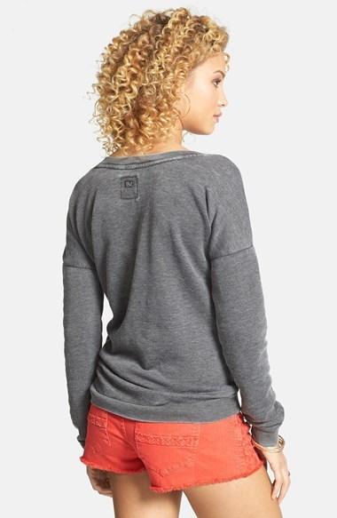 Billabong 'She Sells' Pineapple Print Pullover (Juniors) (Online Only)