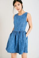 Jack Wills Upton Denim Fit & Flare Dress