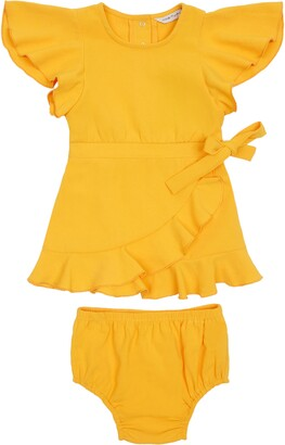 Habitual Crepe Wrap Dress