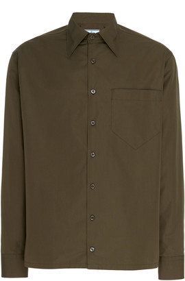 Prada Cotton-Poplin Shirt