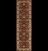 Nourison 85488 India House Area Rug Collection Brick 2 ft 3 in. x 7 ft 6 in. Runner