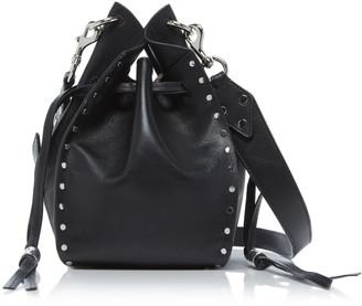 Isabel Marant Taj Studded Leather Bucket Bag
