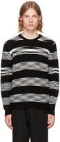 Missoni Black and White Crewneck Sweater