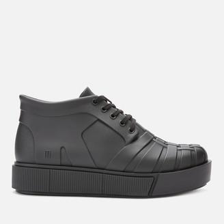Melissa Women's Shadow Flatform Ankle Boots - Black Matt