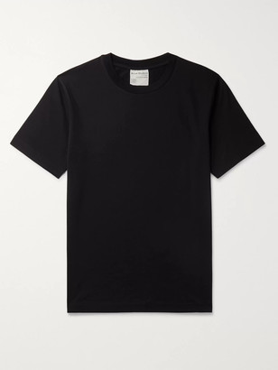 Acne Studios Slim-Fit Cotton-Jersey T-Shirt - Men - Black