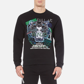 Kenzo Flyer X Tiger Sweatshirt Black