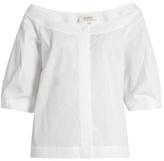 Isa Arfen Boat-neck cotton top