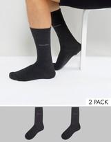 Boss By Hugo Boss Socks In 2 Pack