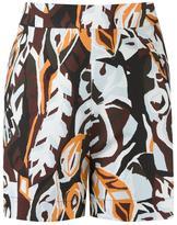 Andrea Marques - high-waisted shorts - women - Cotton/Spandex/Elastane - 40