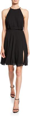 SHO Chiffon Halter Dress