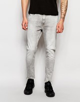 G Star G-Star Jeans Type C 3D Super Slim Stretch Gray Light Aged