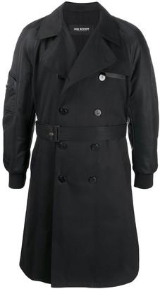 Neil Barrett Classic Belted Trench Coat
