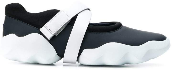 Camper Dub touch strap sneakers