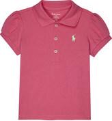 Ralph Lauren Pony piqué cotton polo shirt 3-24 months