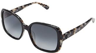 Kate Spade Elianna/G/S (Havana Pink) Fashion Sunglasses