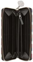gucci night courrier brieftasche mit rundumrei verschluss aus gg supreme herren. Black Bedroom Furniture Sets. Home Design Ideas
