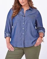 Penningtons d/c JEANS Long Sleeve Button Up Shirt
