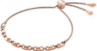 Michael Kors Rose Gold Mercer Link Women's Slider Bracelet