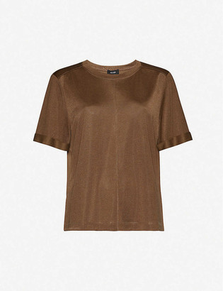 Me And Em AM-PM round-neck woven T-shirt
