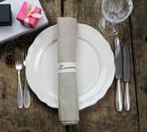 Minna's room Linen Napkin Six Set With Name Ribbon