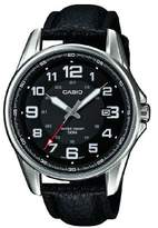 Casio Collection – Men's Analogue Watch with Genuine Leather Strap – MTP-1372L-1BVEF