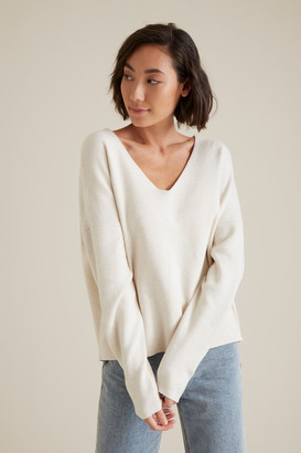 Seed Heritage V Neck Essential Sweater