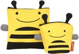 Skip Hop Zoo Reusable Sandwich & Snack Bag Set - Bee - 3.2 oz