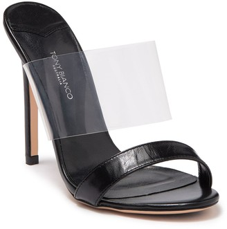 Tony Bianco Kosta Clear Strap Slip-On Sandal