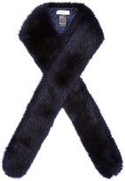 Reiss Linski - Slim Faux-fur Scarf in Blue, Womens