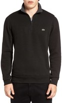 Lacoste Men's Quarter Zip Sweatshirt