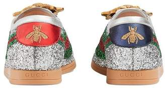 Gucci Falacer glitter sneakers
