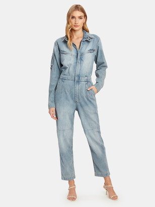 Ksubi Reflex Denim Boiler Suit